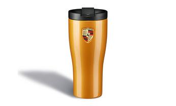 Porsche Thermal Flask in Golden Yellow