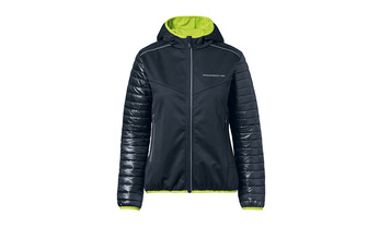 Women's Sport Softshell Jacket in Navy Blue (Special Order Only)