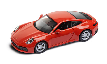 911 Carrera 4S  Pullback, lava orange 1:43
