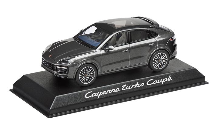 1:43 Model Car | Cayenne Turbo Coupé Metallic Grey