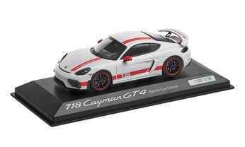 718 Cayman GT4 Sports Cup, Limited Edition, 1:43 scale