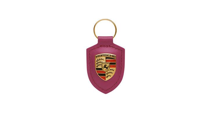 Porsche Crest Keyring, star ruby