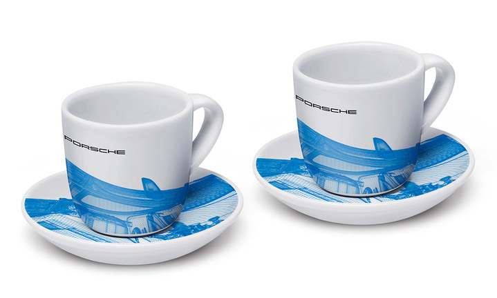 Collector's Espresso Duo No.1, Taycan Collection, Limited Edition