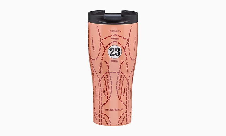 Porsche Pink Pig Thermal Flask
