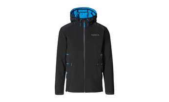 Taycan Collection, Men's Black and Blue Jacket