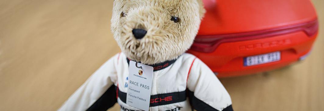 Porsche Driver/'s Selection Motorsport Bear