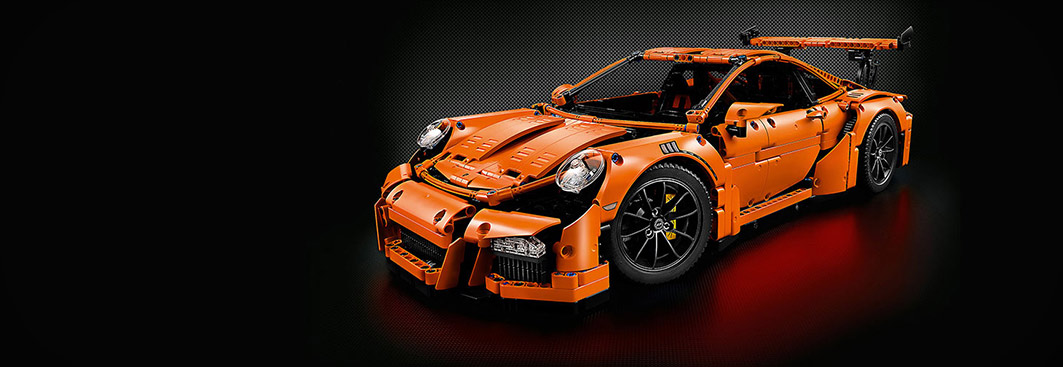 Home - Porsche 911 GT3 RS - LEGO Technic