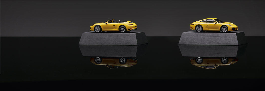 Model cars - 911 Carrera 4S Coupé (991 II), 1:43
